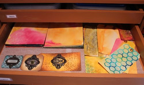 Marjie Kemper Printer's Tray Drawer 2