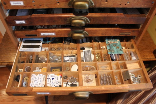 Marjie Kemper Printer's Tray Drawer 7